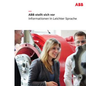 Imageflyer für ABB Deutschland