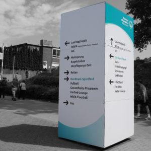 Wegeleitsystem Special Olympics Sommerspiele in Kiel