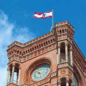 Das Rote Rathaus in Leichter Sprache