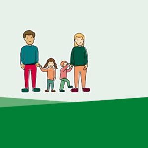 »Leistungen für Familien mit kleinem Einkommen« in Leichter Sprache