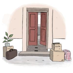 Willkommen zu Hause. Informationen zur neuen Wohnung in Leichter Sprache